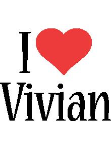 Vivian i-love logo