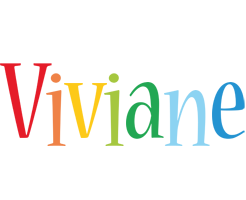 Viviane birthday logo