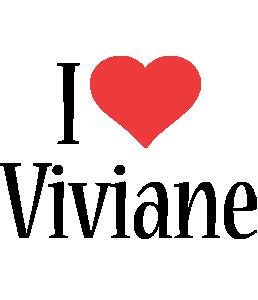 Viviane i-love logo