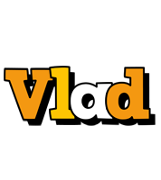 Vlad cartoon logo