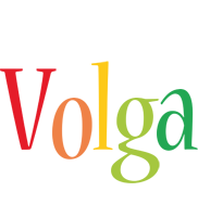 Volga birthday logo