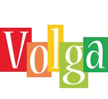 Volga colors logo