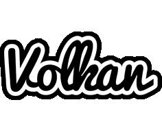 Volkan chess logo