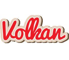 Volkan chocolate logo