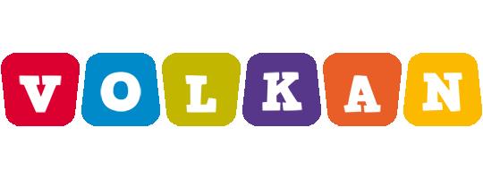 Volkan daycare logo
