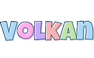 Volkan pastel logo