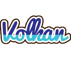 Volkan raining logo