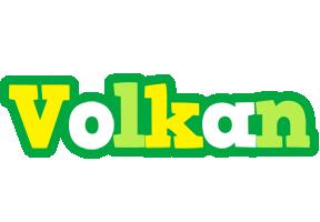 Volkan soccer logo