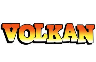 Volkan sunset logo