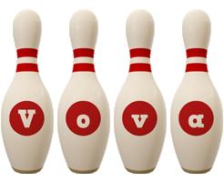 Vova bowling-pin logo
