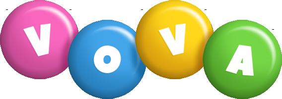Vova candy logo
