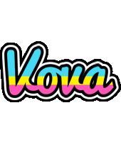 Vova circus logo