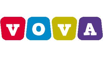 Vova daycare logo