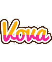 Vova smoothie logo