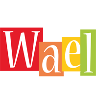 Wael colors logo