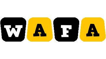 Wafa boots logo