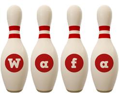 Wafa bowling-pin logo