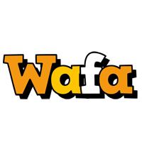Wafa cartoon logo
