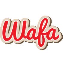 Wafa chocolate logo