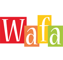 Wafa colors logo
