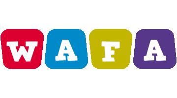 Wafa daycare logo