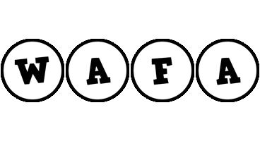 Wafa handy logo