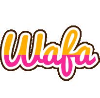 Wafa smoothie logo