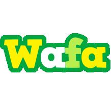 Wafa soccer logo