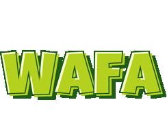Wafa summer logo