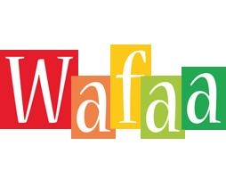 Wafaa colors logo