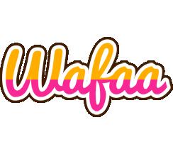 Wafaa smoothie logo
