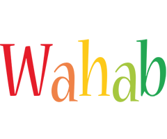 Wahab birthday logo