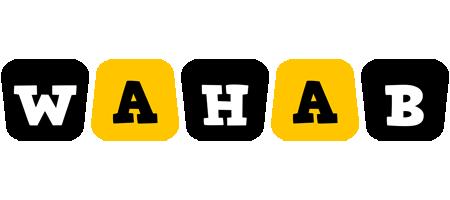 Wahab boots logo