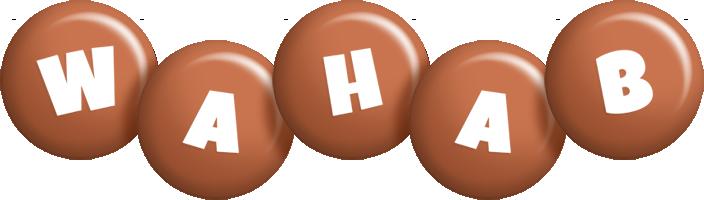 Wahab candy-brown logo