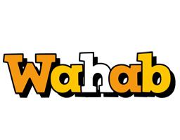 Wahab cartoon logo