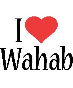Wahab i-love logo