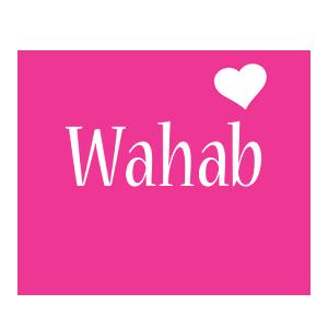 Wahab love-heart logo