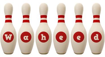 Waheed bowling-pin logo