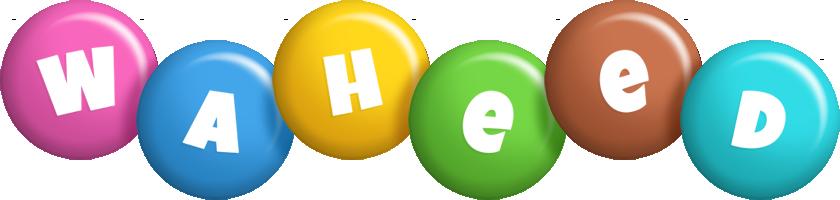 Waheed candy logo