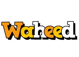 Waheed cartoon logo