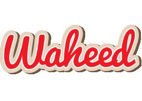 Waheed chocolate logo
