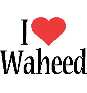 Waheed i-love logo
