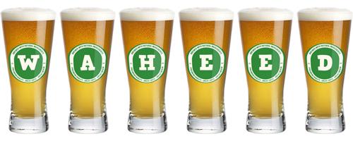 Waheed lager logo