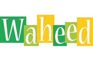 Waheed lemonade logo