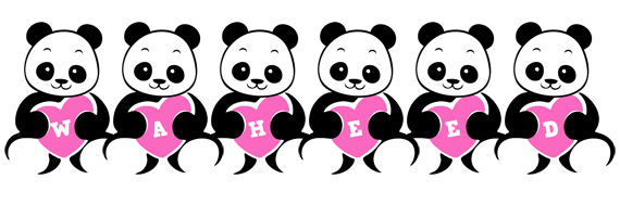 Waheed love-panda logo