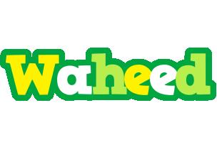 Waheed soccer logo