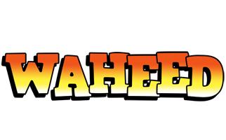 Waheed sunset logo