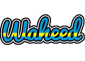 Waheed sweden logo