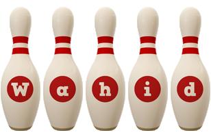 Wahid bowling-pin logo