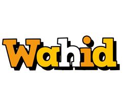 Wahid cartoon logo